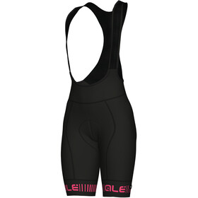 Alé Cycling Graphics PRR Strada Bibshorts Women black-fluo pink